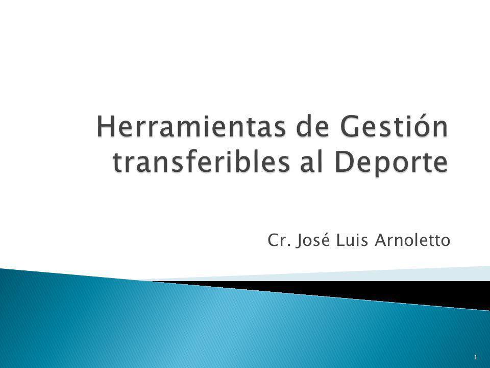 Herramientas de Gestión transferibles al Deporte