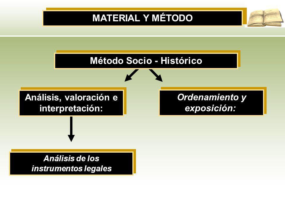 Método Socio - Histórico