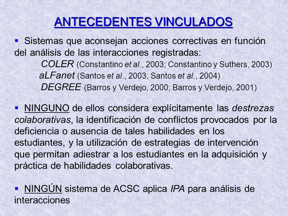 ANTECEDENTES VINCULADOS
