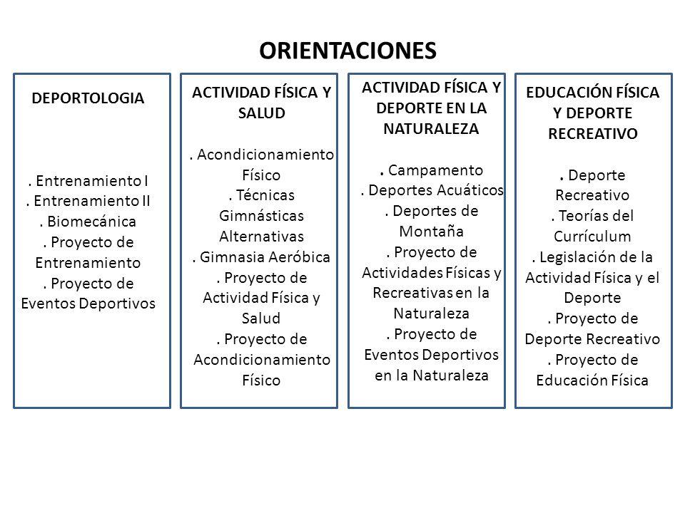 ORIENTACIONES ACTIVIDAD FÍSICA Y DEPORTE EN LA NATURALEZA