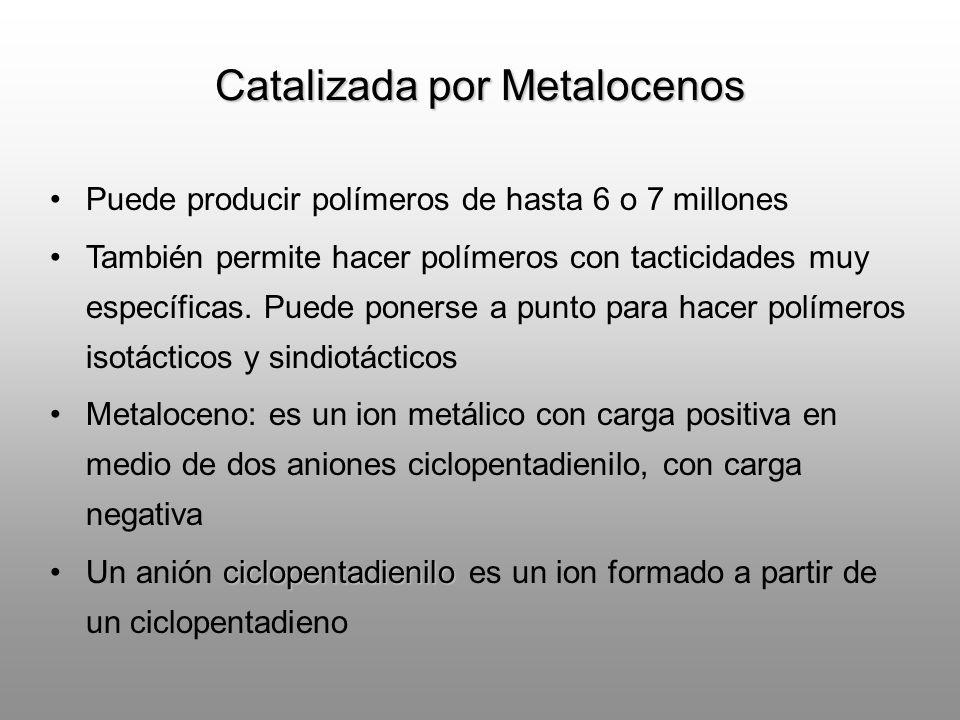 Catalizada por Metalocenos