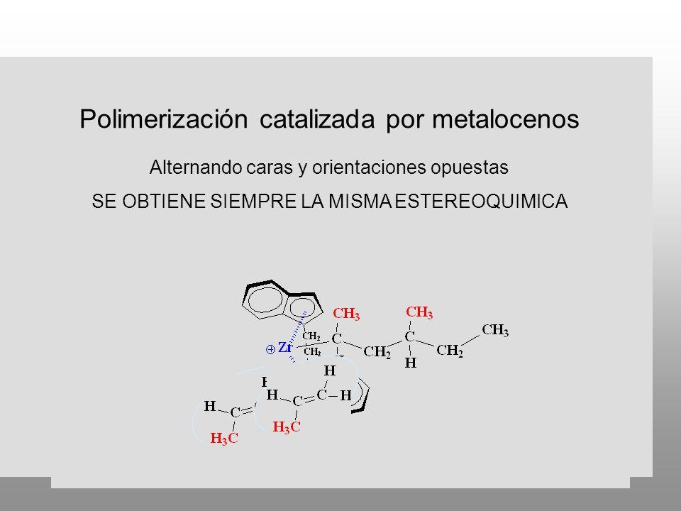 Polimerización catalizada por metalocenos