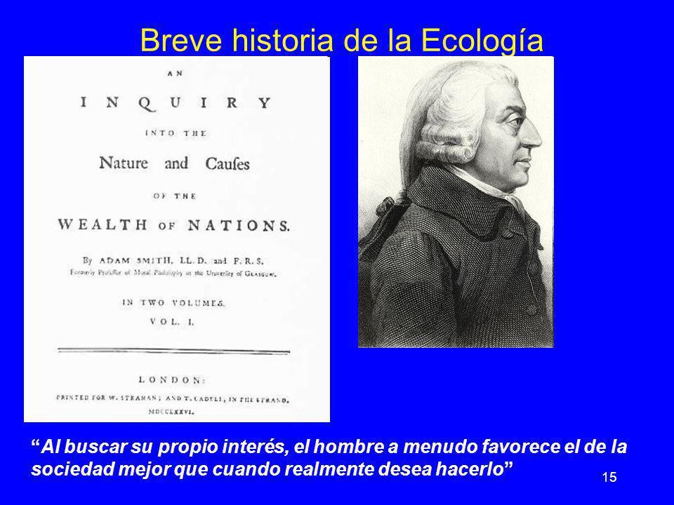 Breve historia de la Ecología