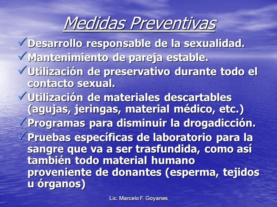 Medidas Preventivas Desarrollo responsable de la sexualidad.