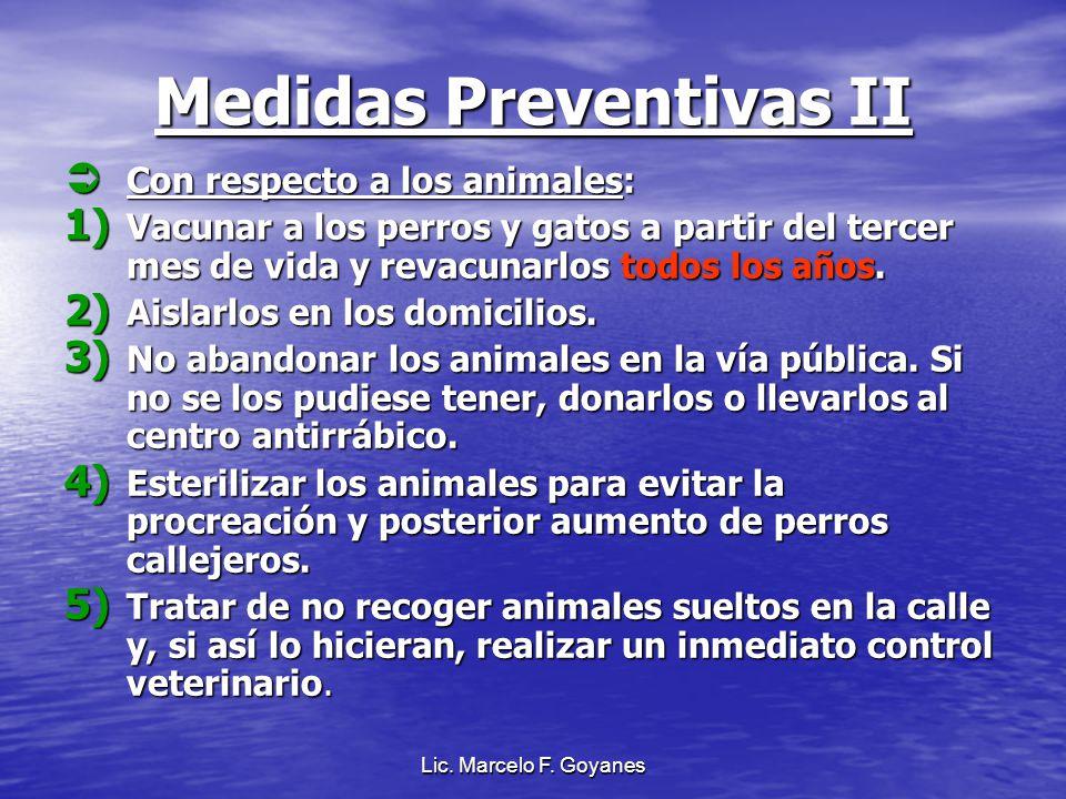Medidas Preventivas II