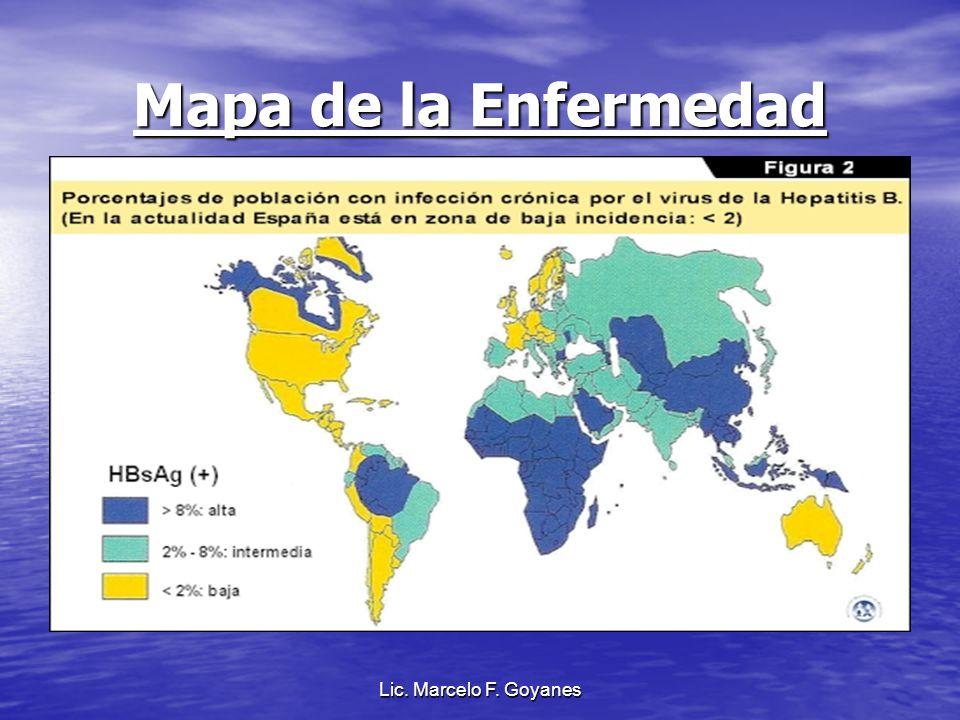 Mapa de la Enfermedad Lic. Marcelo F. Goyanes