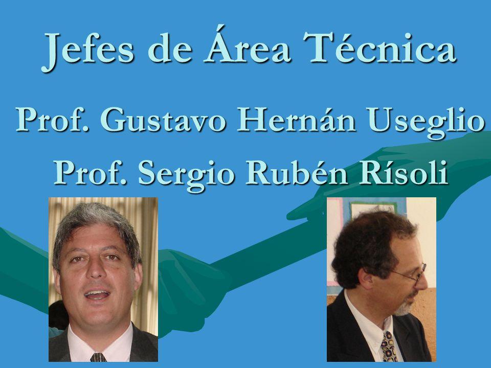 Prof. Gustavo Hernán Useglio Prof. Sergio Rubén Rísoli