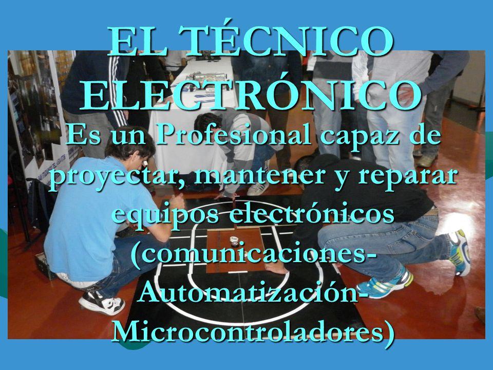 EL TÉCNICO ELECTRÓNICO