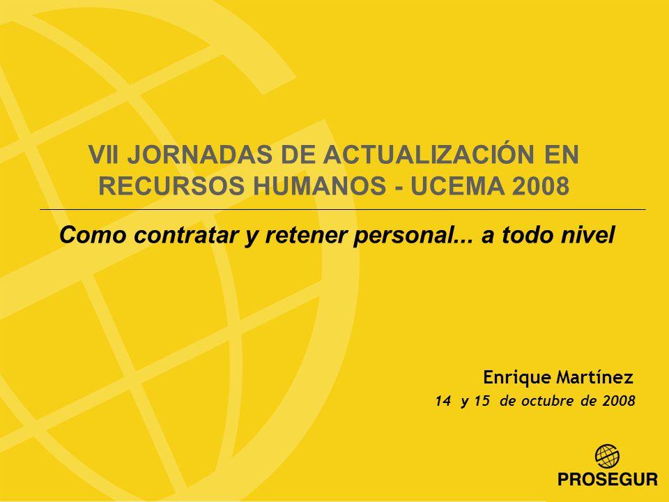 VII JORNADAS DE ACTUALIZACIÓN EN RECURSOS HUMANOS - UCEMA 2008