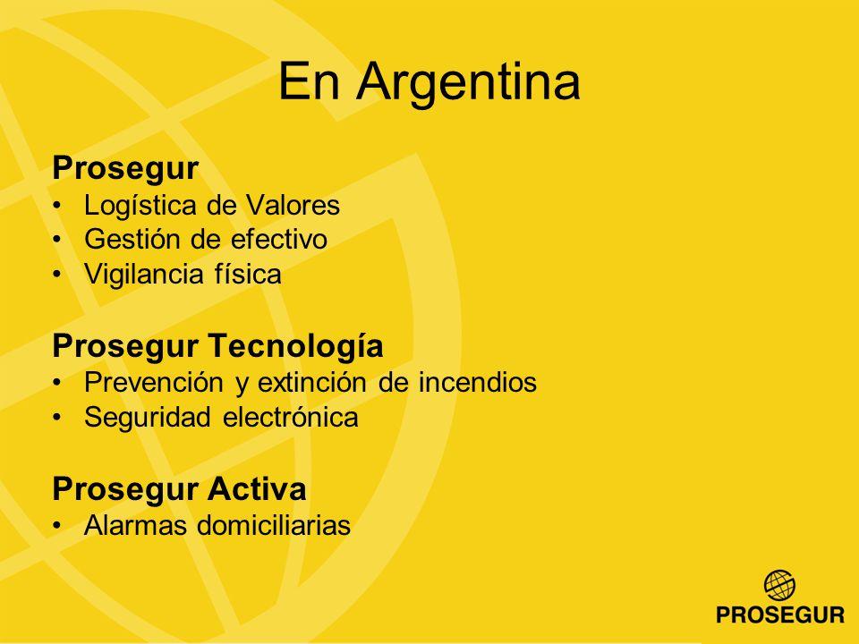 En Argentina Prosegur Prosegur Tecnología Prosegur Activa