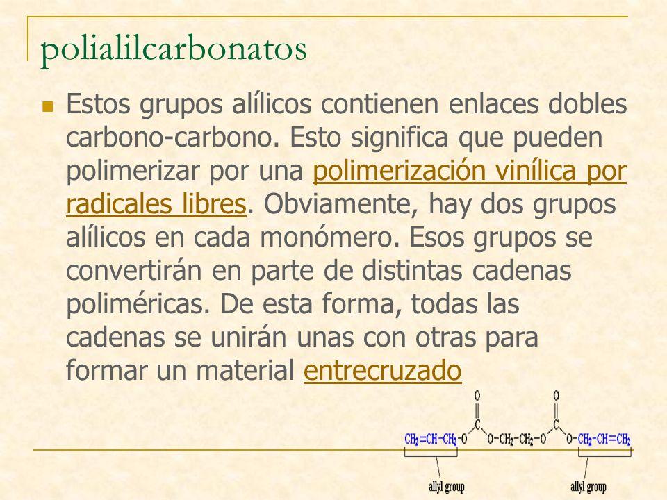 polialilcarbonatos