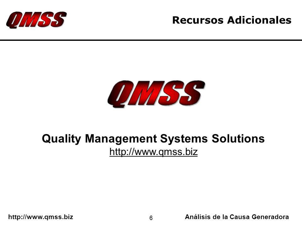 Quality Management Systems Solutions