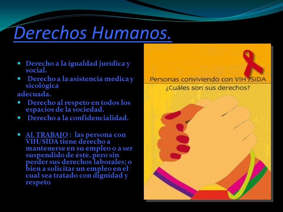 Derechos Humanos. Derecho a la igualdad jurídica y social.