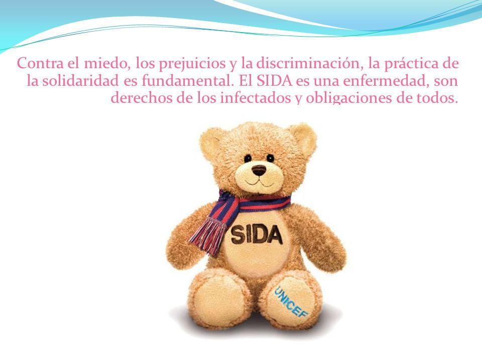 Contra el miedo, los prejuicios y la discriminación, la práctica de la solidaridad es fundamental.