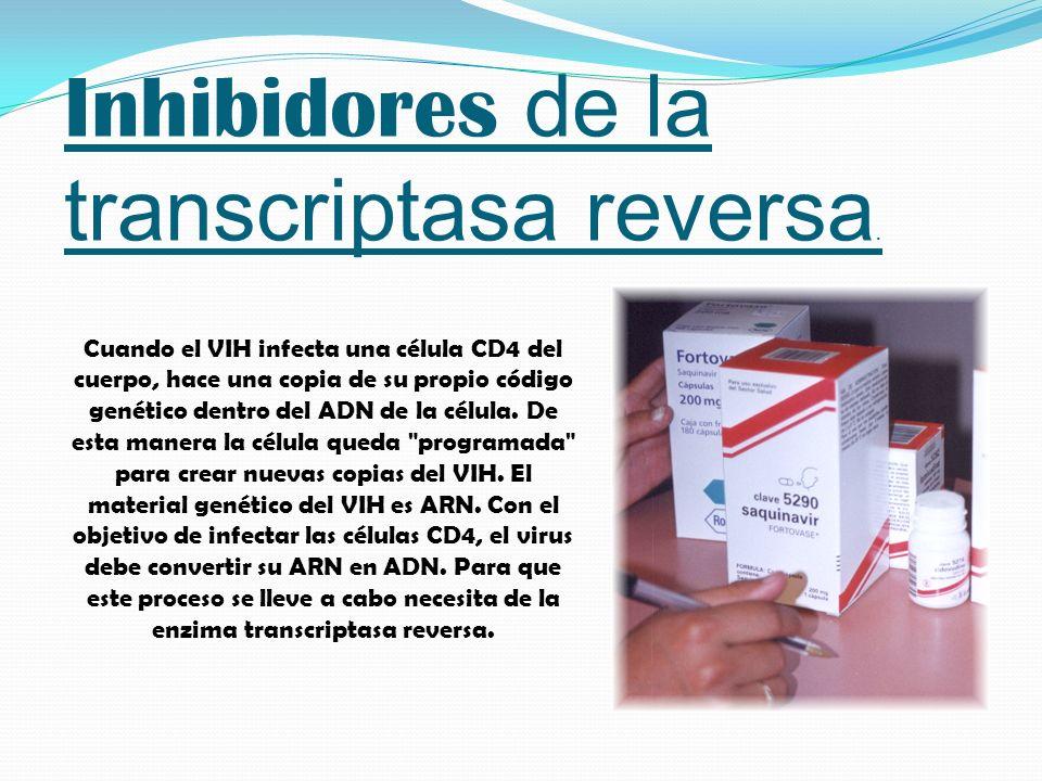 Inhibidores de la transcriptasa reversa.