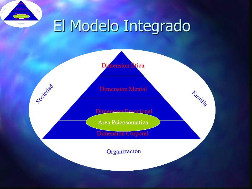 El Modelo Integrado Sociedad Familia Organización Dimension Corporal