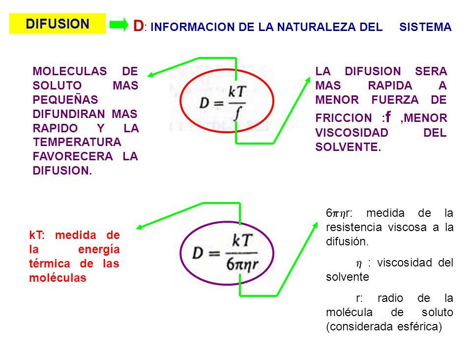 D: INFORMACION DE LA NATURALEZA DEL SISTEMA