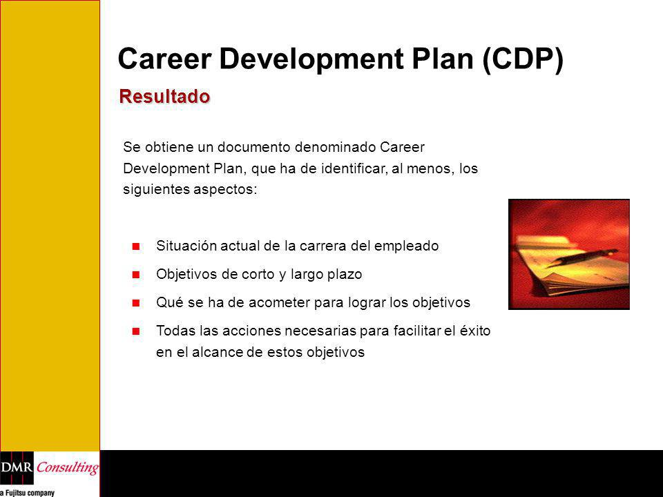 Career Development Plan (CDP)