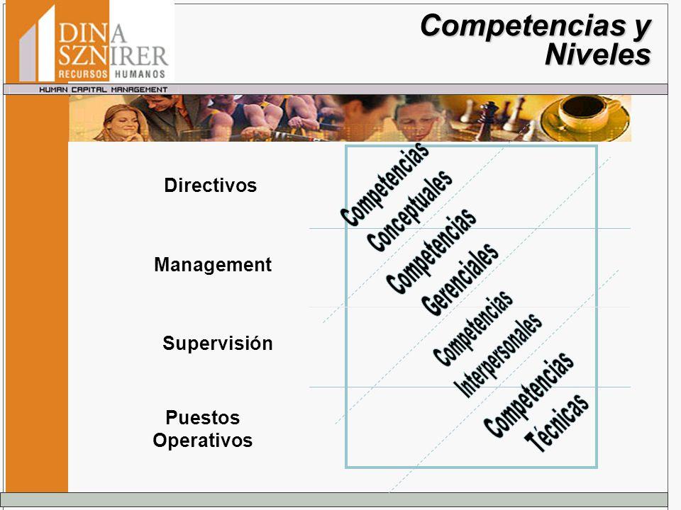 Competencias y Niveles