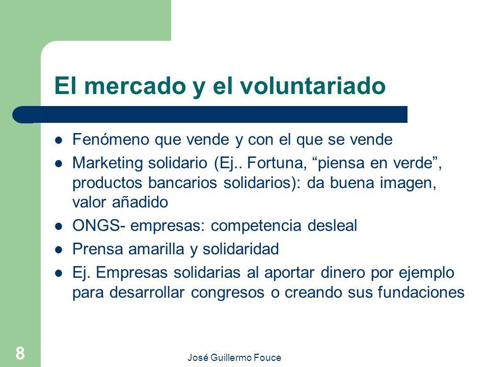 El mercado y el voluntariado