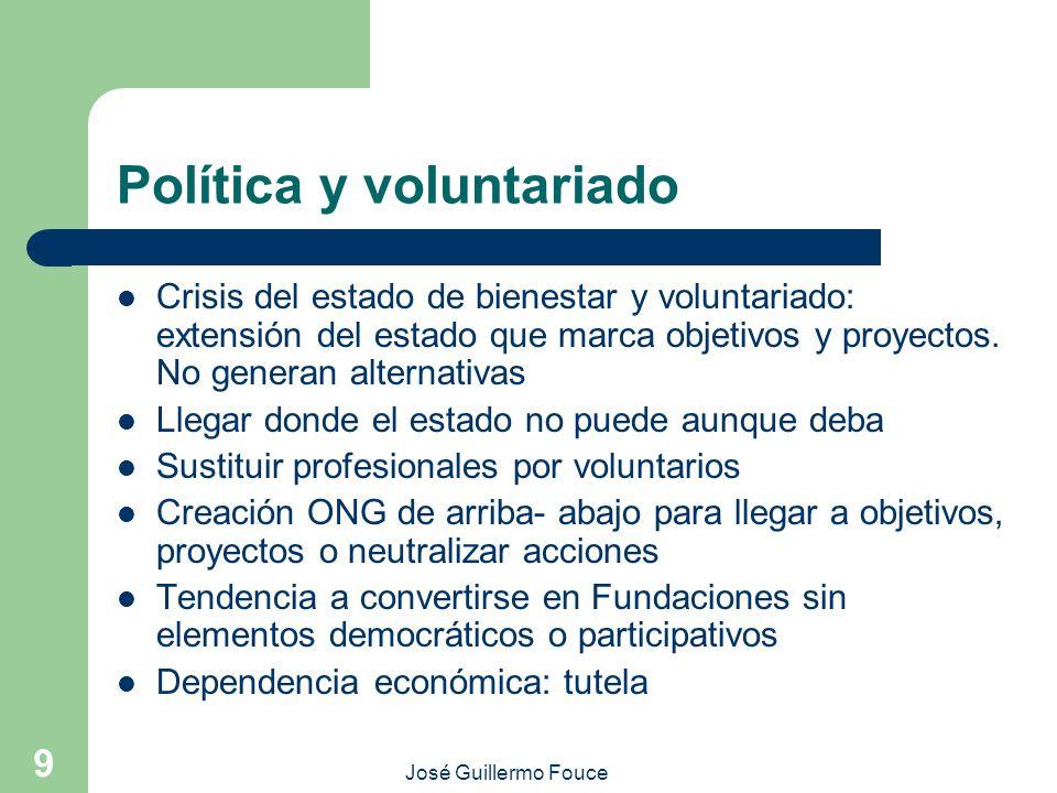Política y voluntariado