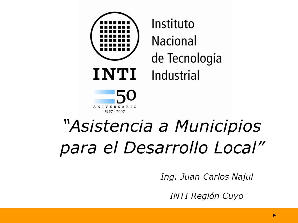 Asistencia a Municipios para el Desarrollo Local