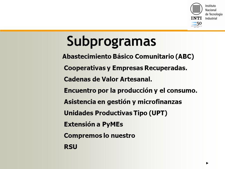 Abastecimiento Básico Comunitario (ABC)