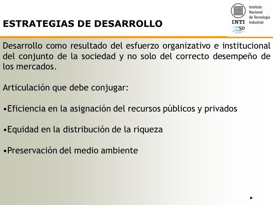 ESTRATEGIAS DE DESARROLLO