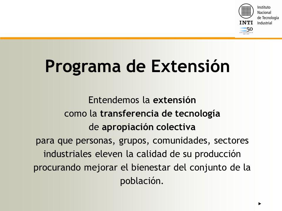 Programa de Extensión Entendemos la extensión
