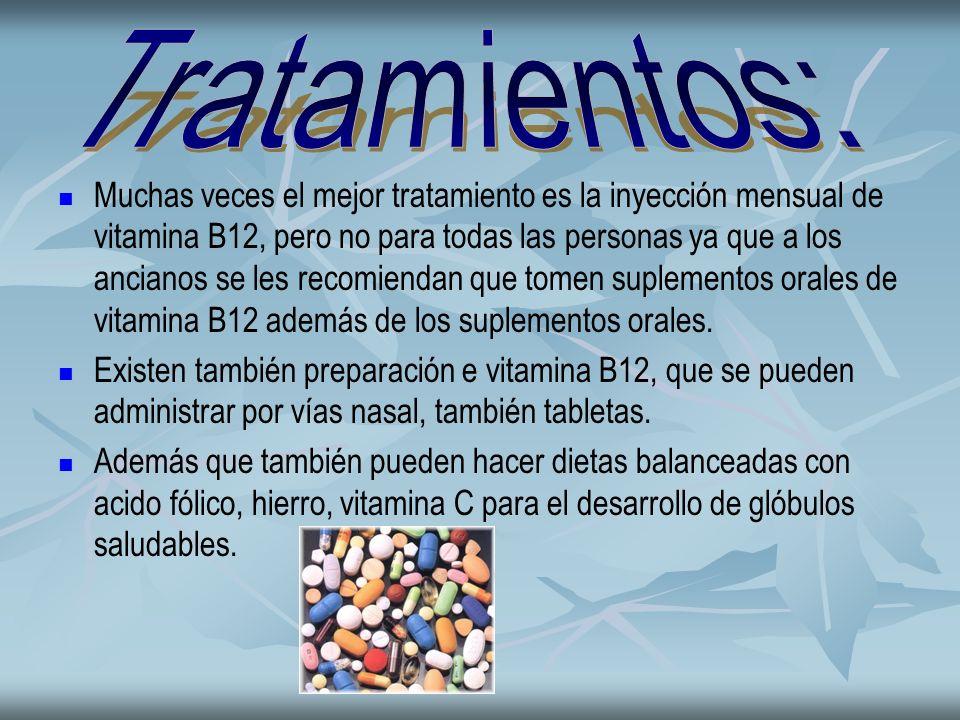 Tratamientos:
