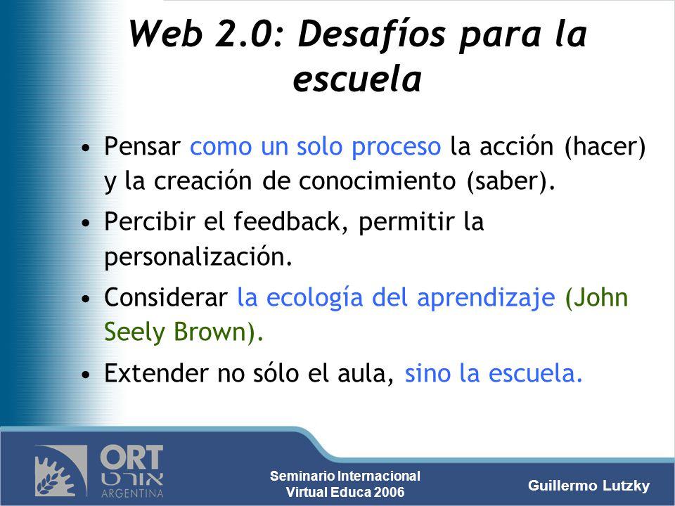 Web 2.0: Desafíos para la escuela