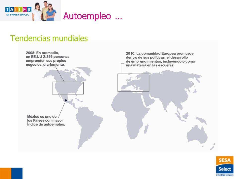 Autoempleo … Tendencias mundiales