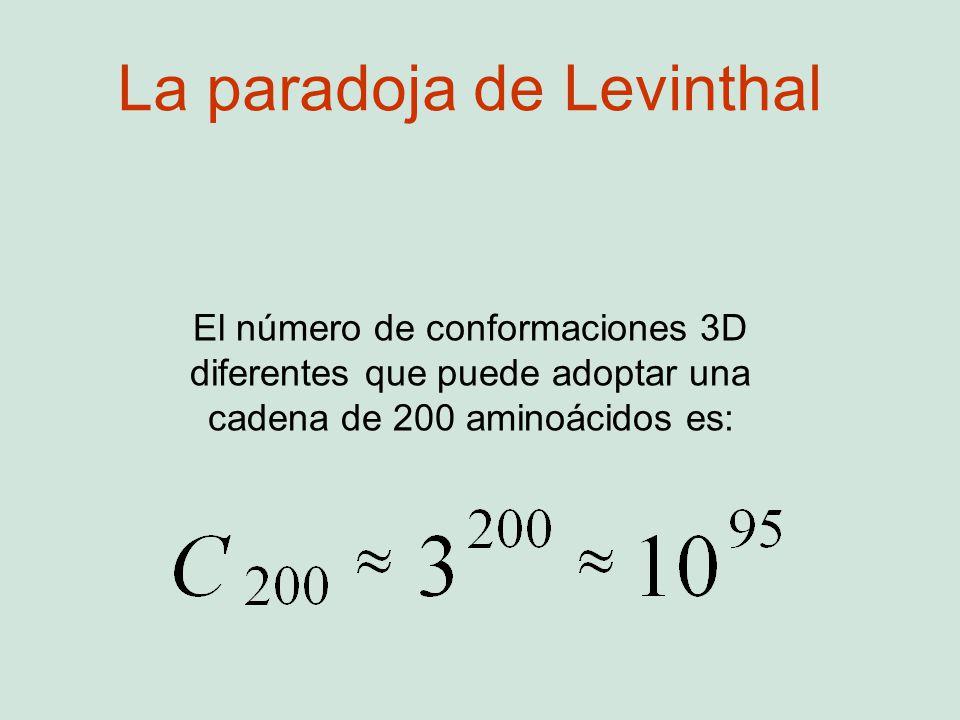 La paradoja de Levinthal