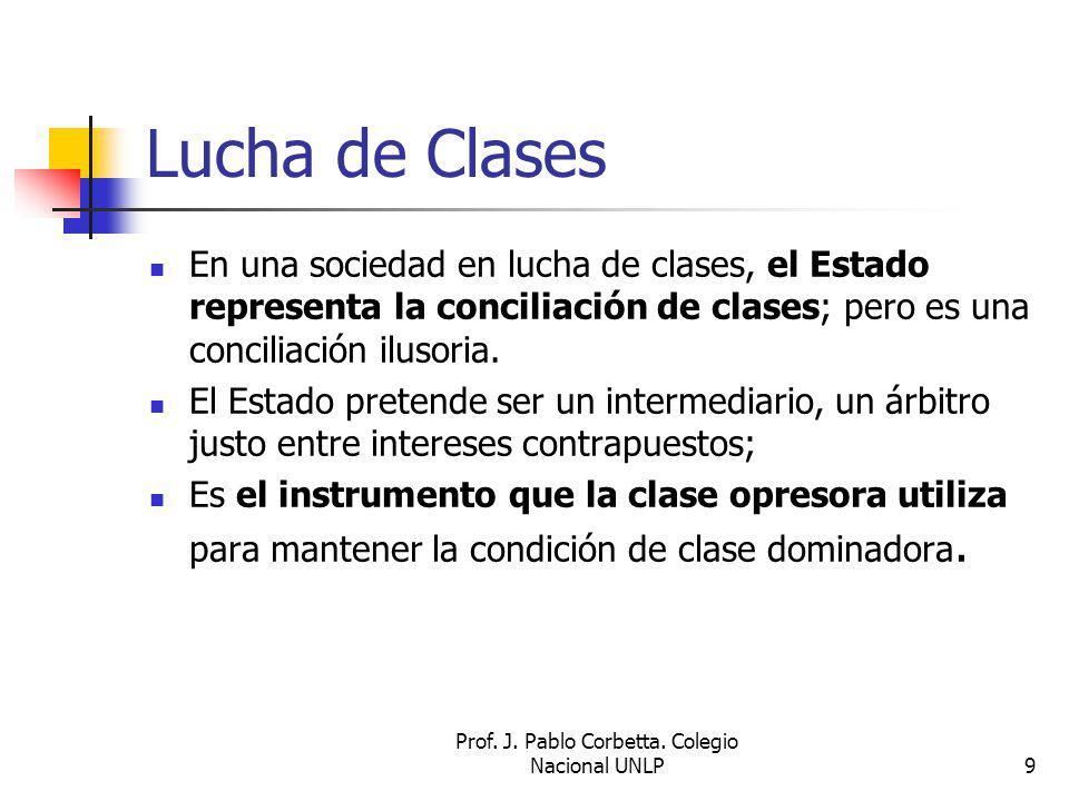Prof. J. Pablo Corbetta. Colegio Nacional UNLP
