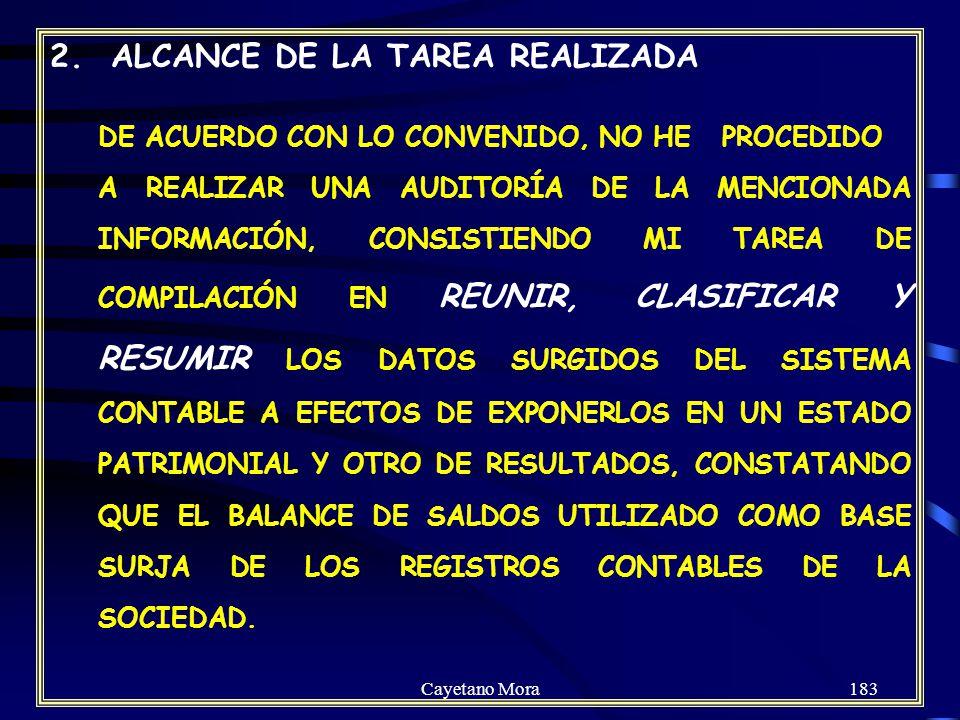 2. ALCANCE DE LA TAREA REALIZADA