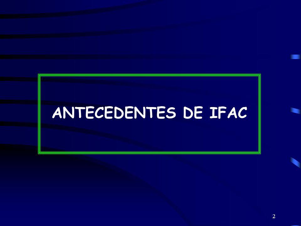 ANTECEDENTES DE IFAC