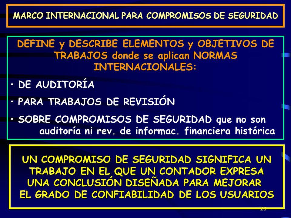 PARA TRABAJOS DE REVISIÓN