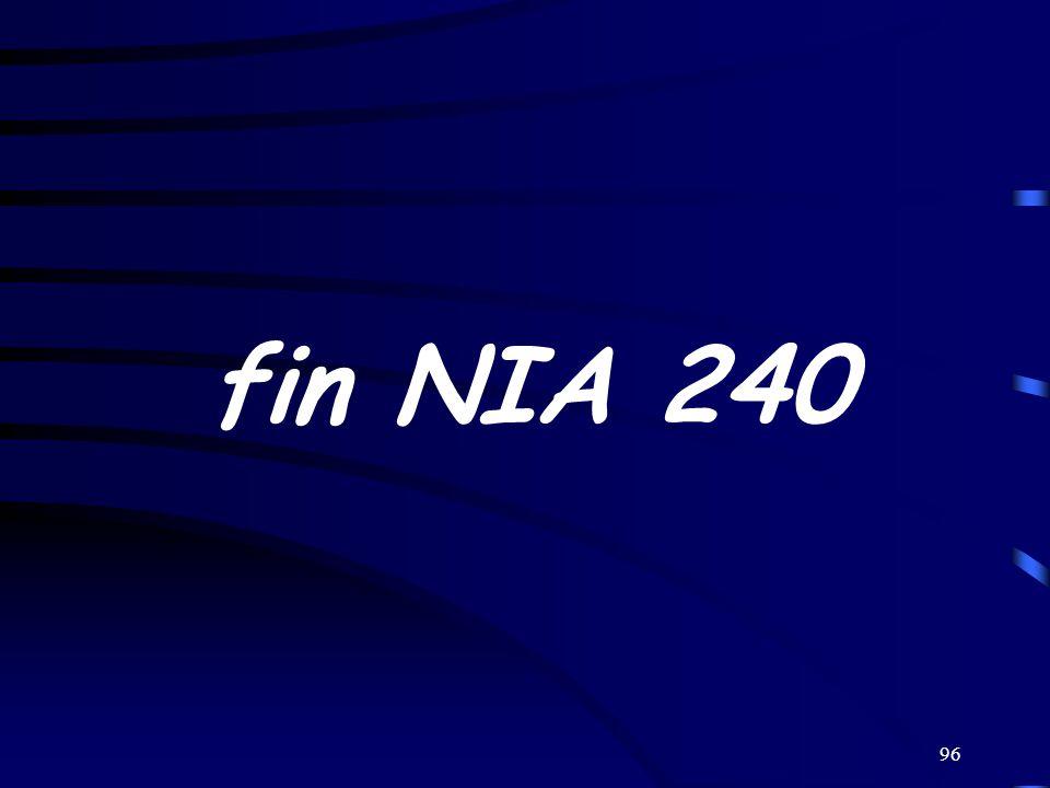 fin NIA 240
