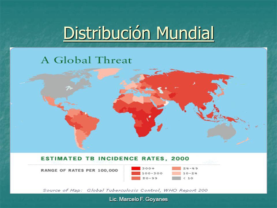 Distribución Mundial Lic. Marcelo F. Goyanes