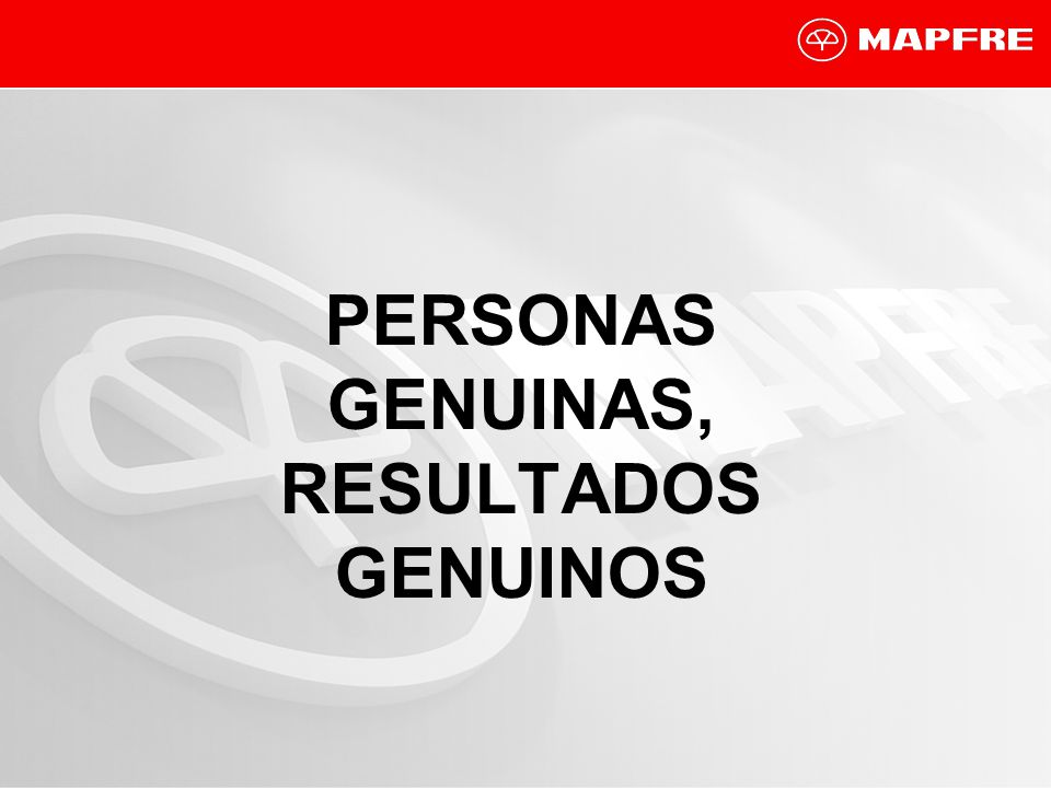 PERSONAS GENUINAS, RESULTADOS GENUINOS
