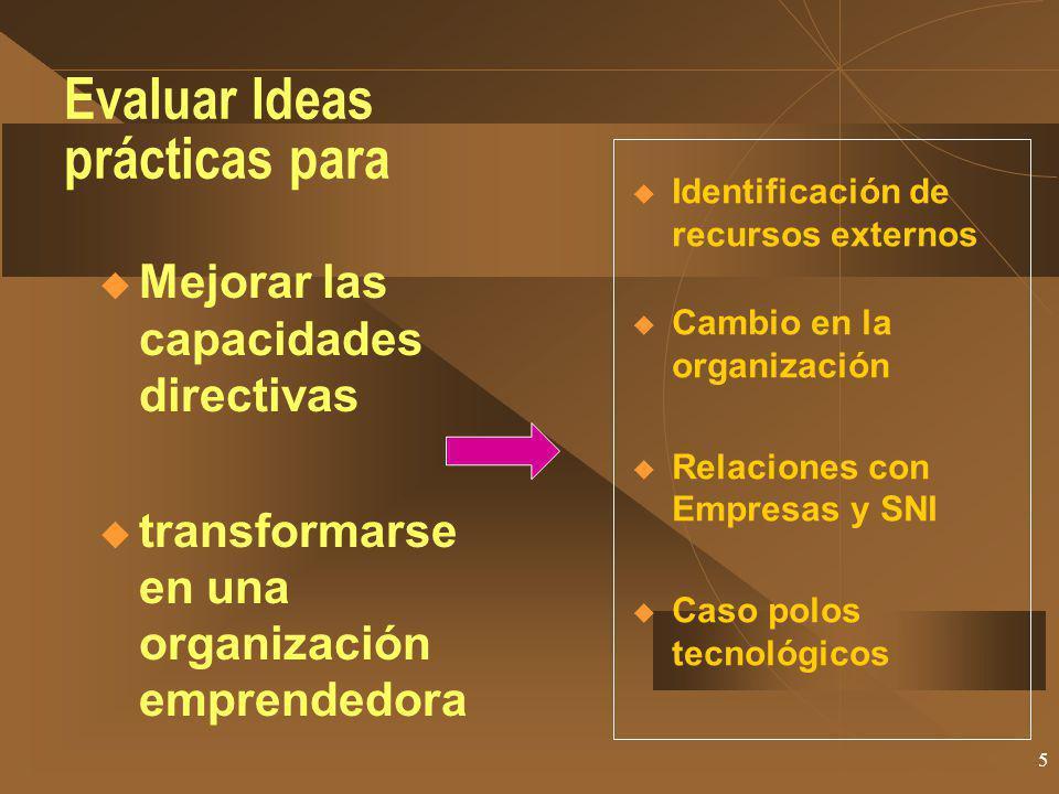 Evaluar Ideas prácticas para