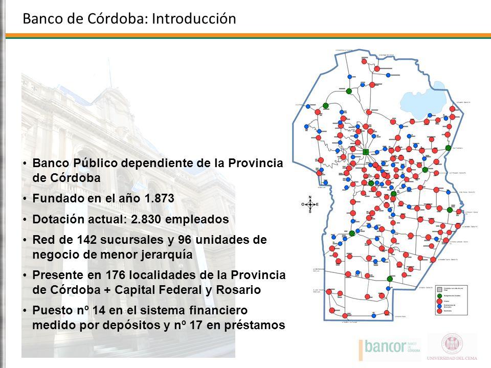 Banco de Córdoba: Introducción