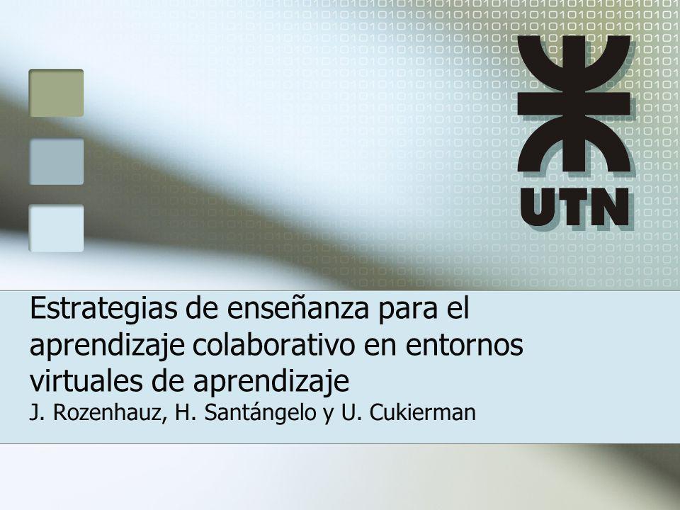 J. Rozenhauz, H. Santángelo y U. Cukierman