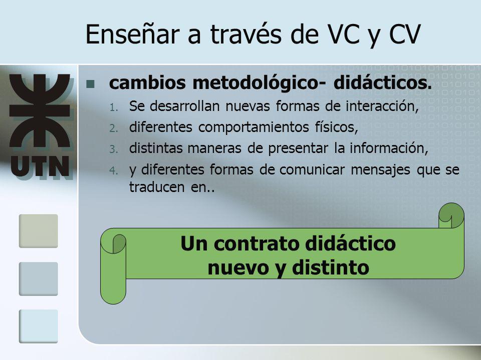 Enseñar a través de VC y CV