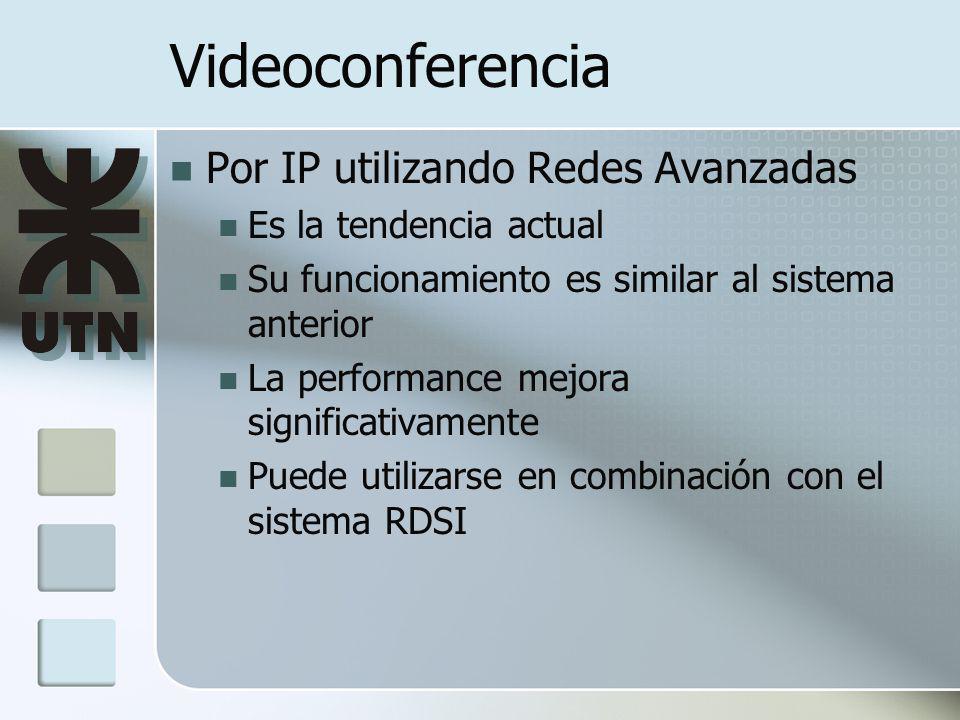 Videoconferencia Por IP utilizando Redes Avanzadas