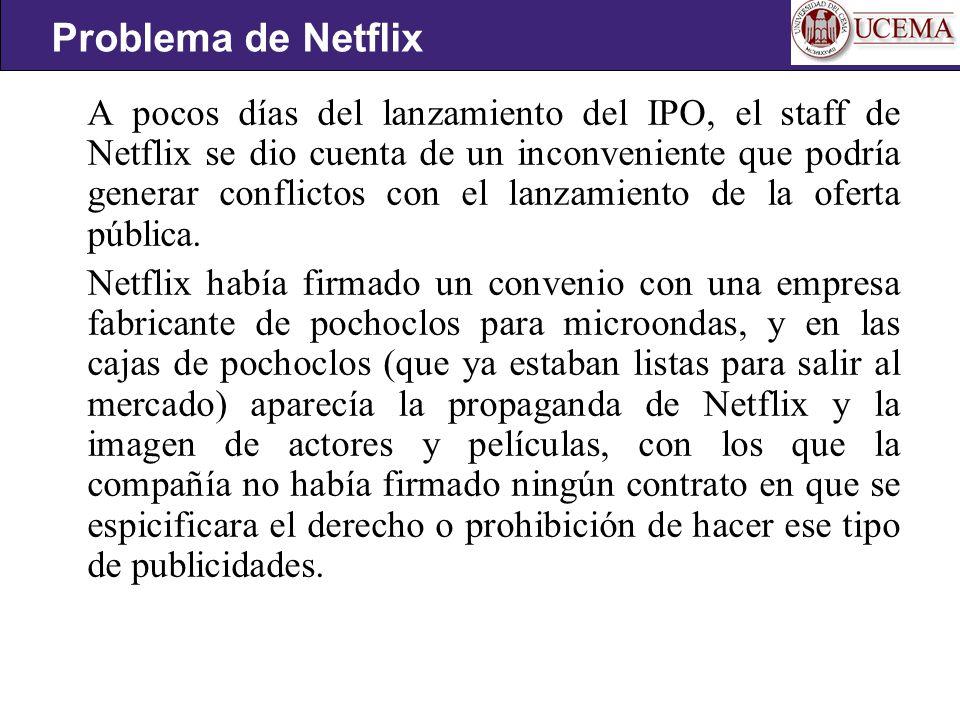 Problema de Netflix