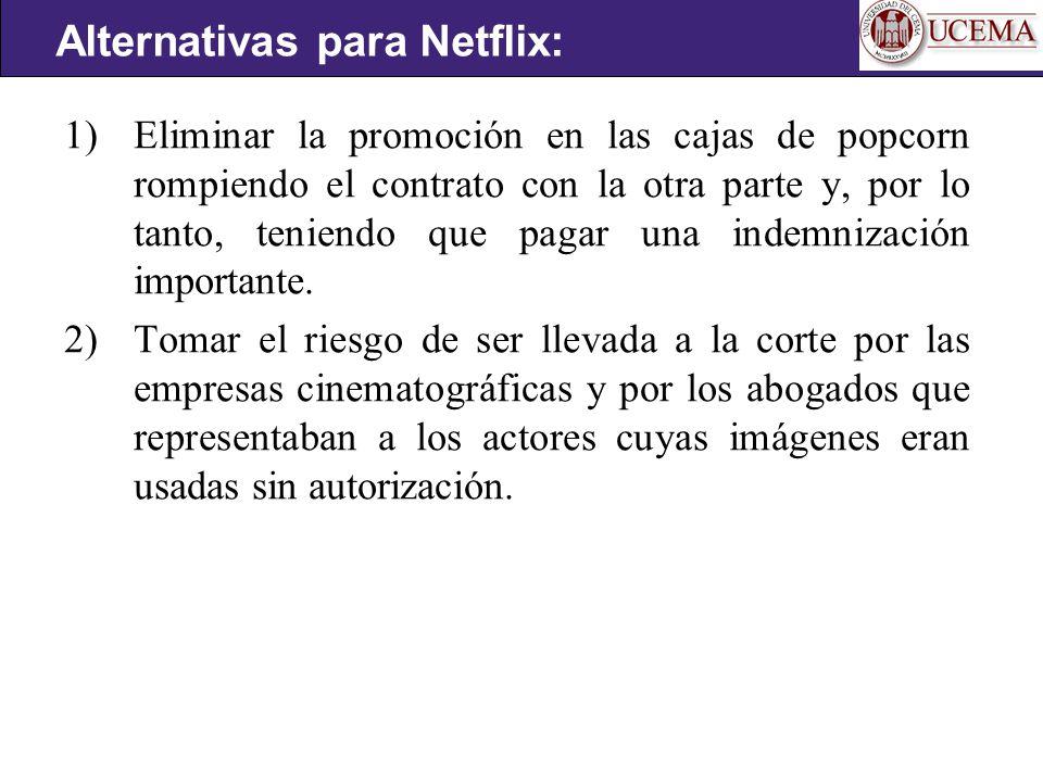 Alternativas para Netflix: