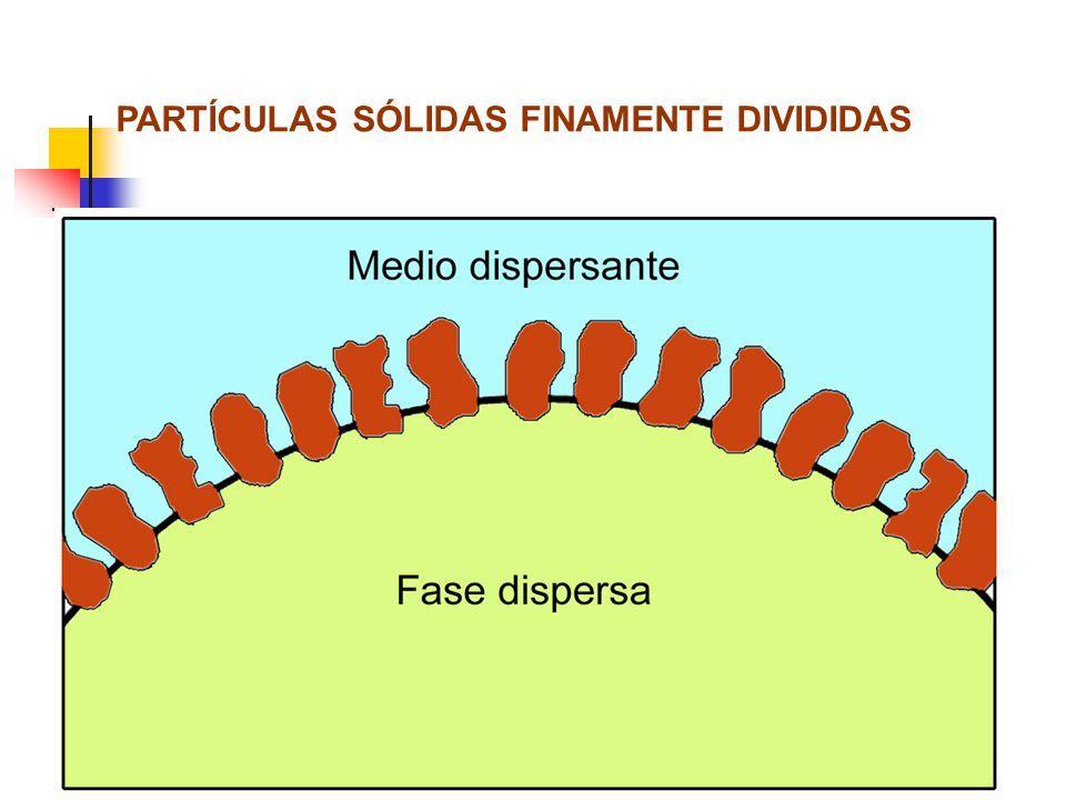 PARTÍCULAS SÓLIDAS FINAMENTE DIVIDIDAS