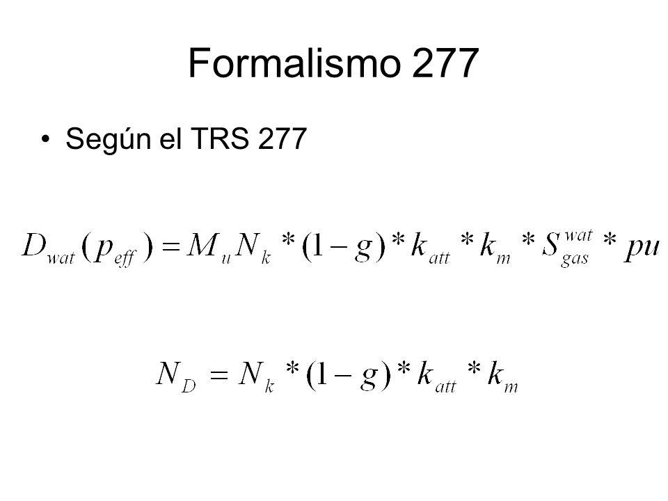 Formalismo 277 Según el TRS 277