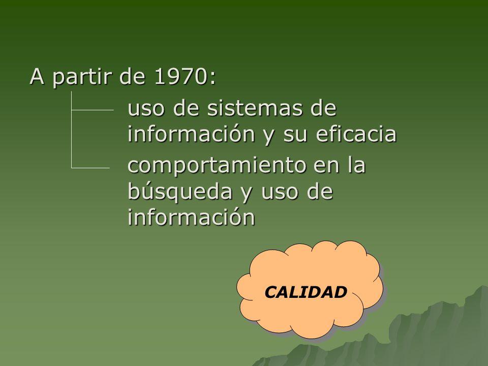 uso de sistemas de información y su eficacia